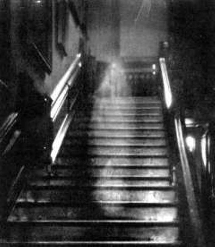 The brown lady is one of the most famous ghost pictures ever taken.